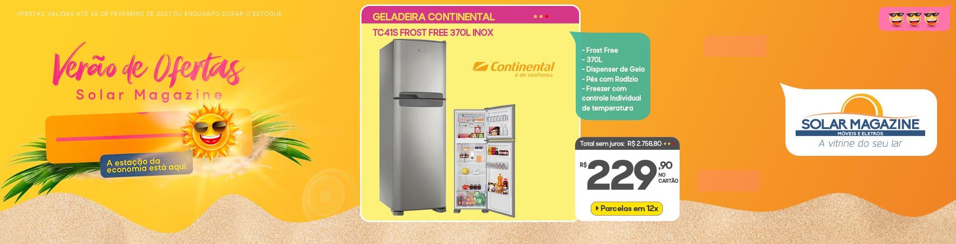 Geladeira Continental tc41s 1 a 15/02