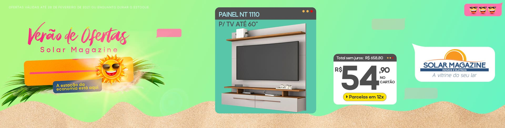 Painel NT1110 Notavel 1 a 15/02