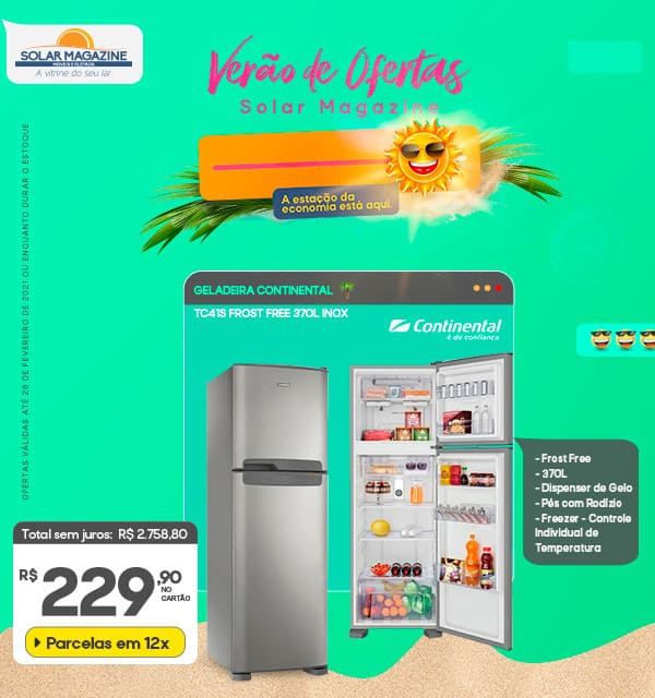 Refrigerador Continental 1 a 15/02