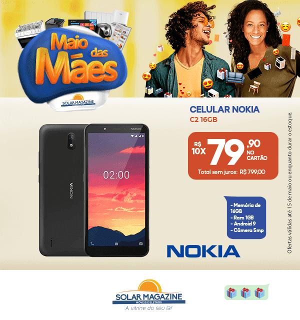 Celular Nokia C2 - 01-05 á 31-05-2021