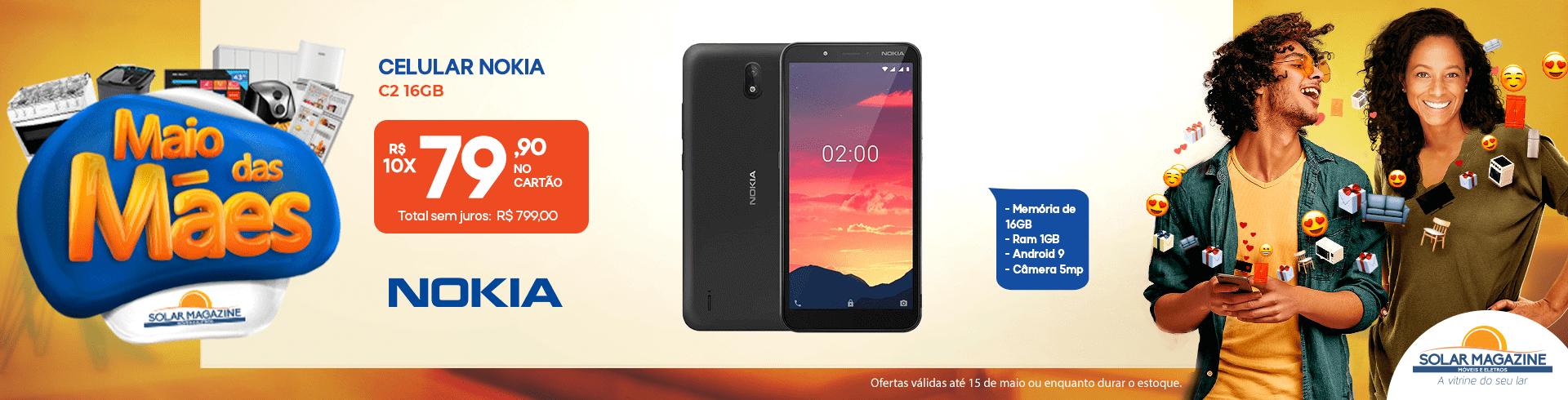Celular C2 - Nokia - 01-05 à 31-05-2021