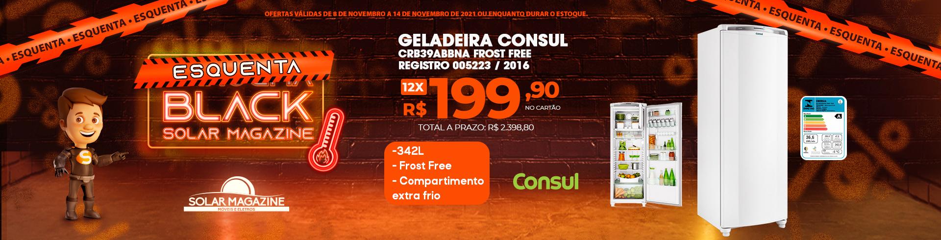Geladeira Consul CRD37 - 01-05 à 31-05-2021