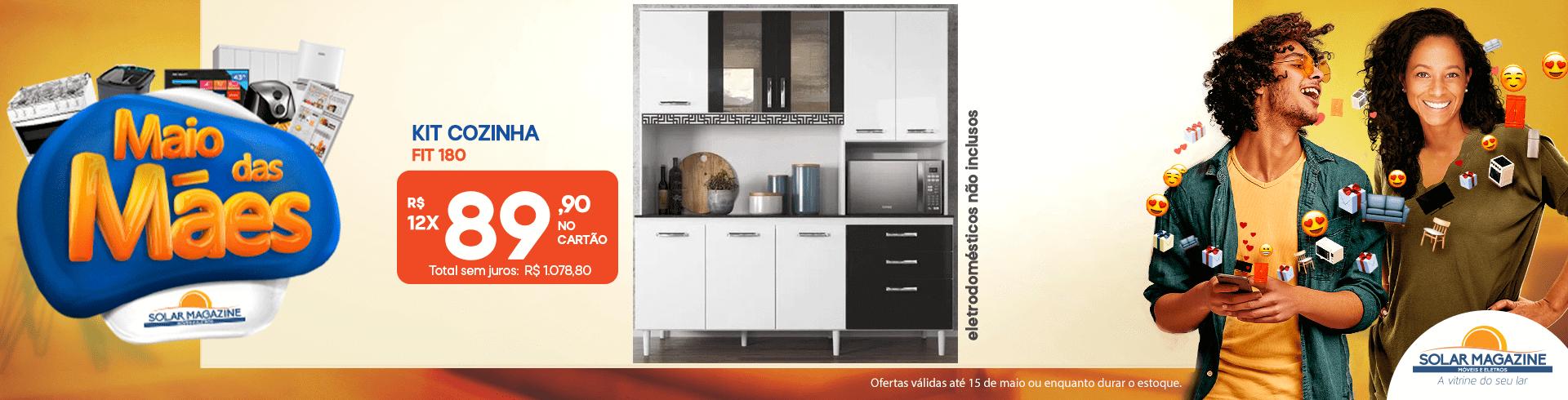 Cozinha Nicioli Fit 180 - 01-05 à 31-05-2021